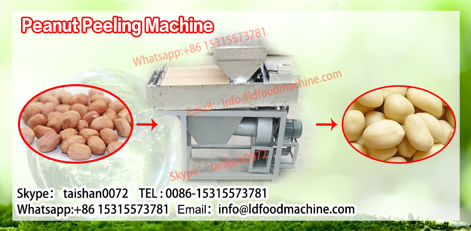 Green fresh sweet corn skin removing machine