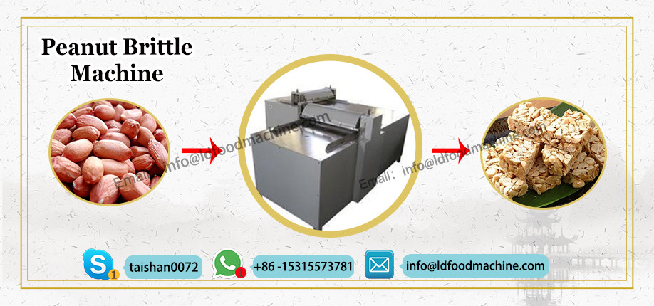 Peanut Brittle make machinery Peanut Brittle Cutting machinery