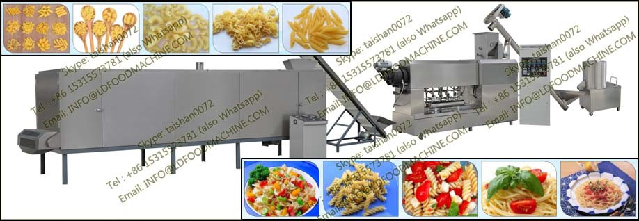 Hot sell macaroni machinery industrial pasta make machinery