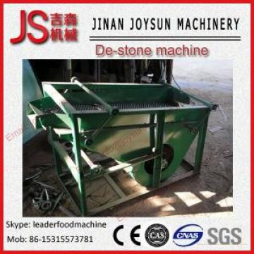 Stainless Steel Destoner Machine  For Wheat , Rice Low Power Consumption