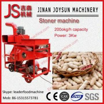 1500 - 2000kg / h Peanut Cleaning Machine / Peanut Destone Machine