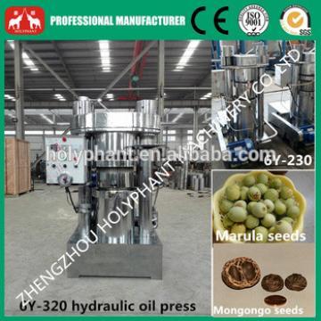 Sesame,sunflower,marula,mongo hydraulic cold oil press machine