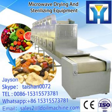 Rosemary Microwave leaf dryer sterilizer 100-1000kg/h with CE certificate