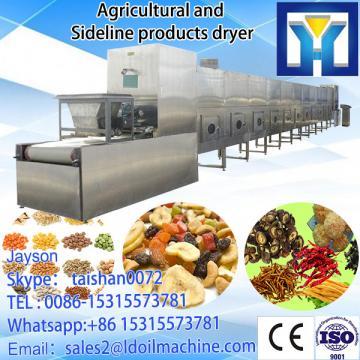 tunnel type micorwave drying equipment for potato slice