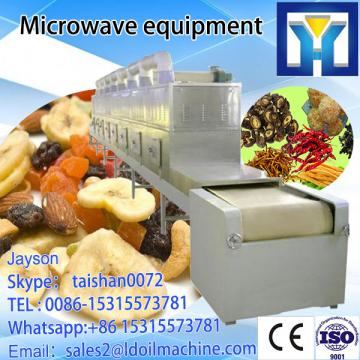 equipment sterilizer/sterilization and  dryer/drying  leaf  moringa  continuous Microwave Microwave Microwave thawing