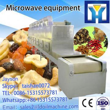 SS304 equipment sterilization seed  sesame  type  belt  conveyor Microwave Microwave Tunnel thawing