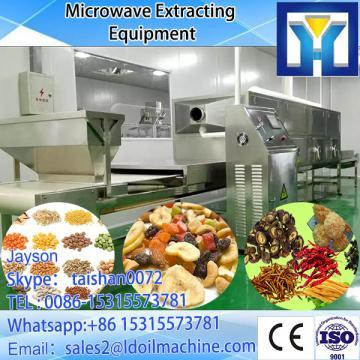 tunnel Microwave green tea&black tea& buckwheat tea microwave drying and sterilization machine