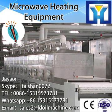 Cuboid Microwave form continuous production type tea leaf drying / remove water machine