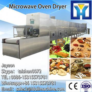 Speed adjustable fig microwave sterilizing drying machine