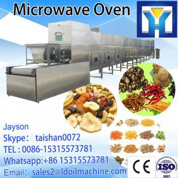 LD Microwave tunnel organic green tea leaf drying machine /prcoessing machine