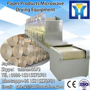 continuous Microwave tunnel type dryer/paper drying machine with new condition for sale