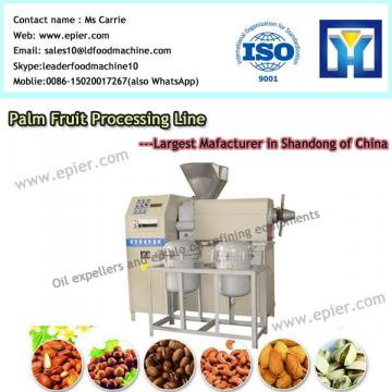 3 Ton per Day extruder plant for corn and soybean oil refinery machine