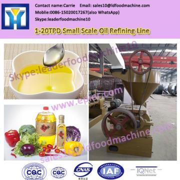 QI'E small scale crude edible oil refinery machine