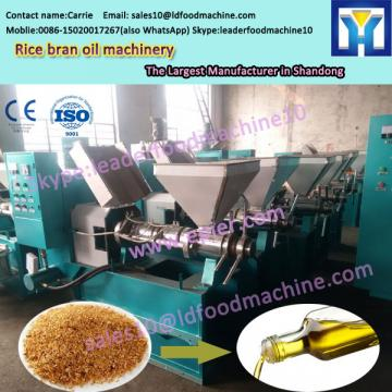 New type 10-1000TPD crude rice bran oil refining machinery