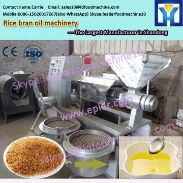 Physical refining rice bran crude oil refining machine