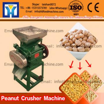 Foodstuff Peanut Crusher Machine Stainless Steel For Crisp Herbs