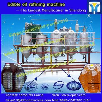 Soybean oil production plant for processing soybean to refined oil