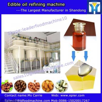 The most popular crude vegetable oil refining machinery with ISO9001 and CE