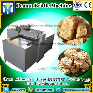 Electric LLDe Cereal Sesame Brittle Maker Snack MueLDi Bar Production Line Peanut candy Bar make machinery