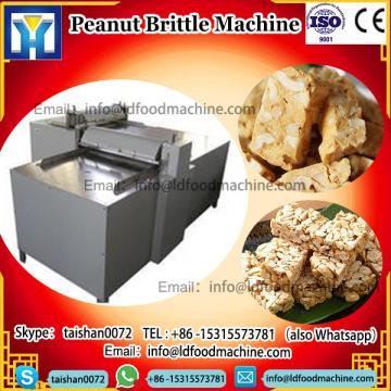 Hot Sale Stainless Steel Snack Peanut Brittle Cereal Bar make machinery Nougat