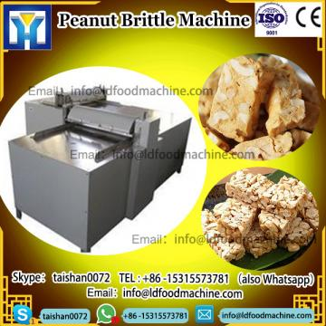Manufacturer Production Protein Cereal Bar machinery Line Brittle Peanut candy make machinery