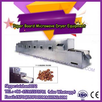 Microwave foams dryer and sterilizer machine