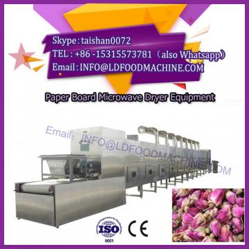 Paper tube industrial microwave dryer machine