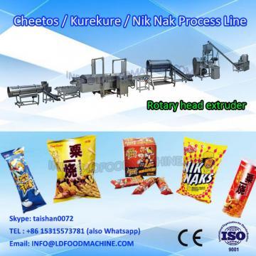 Extruder plant for snack inflating snacks food make equipment