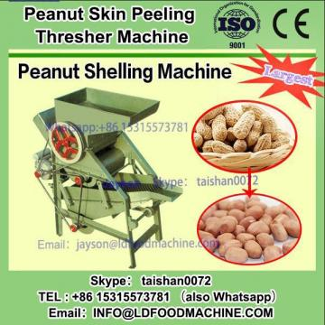 Peanut shell removing machinery