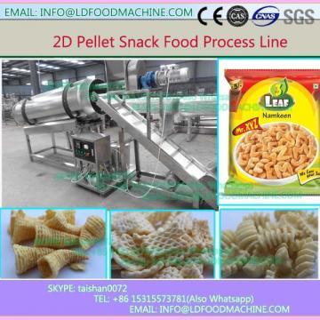 Automatic 2D Snack crisp Chips Fried Pellets Processing Line