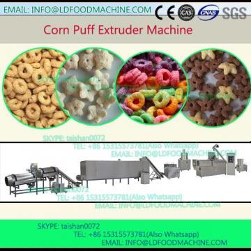 Jinan extruder manufacturer crisp puffed snack twin screw extruder