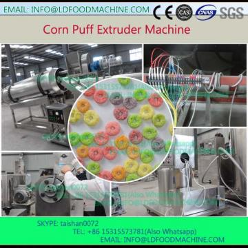 Automatic twin screw extruded corn puff  make machinery