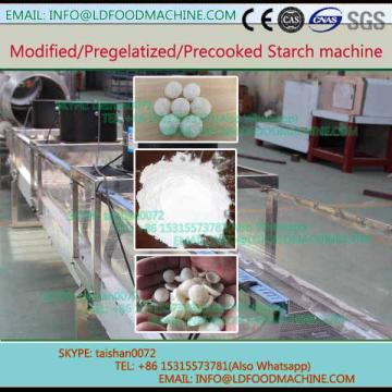 pregelatinized corn extruder modified potato cassava tapioca starch production line  machinery