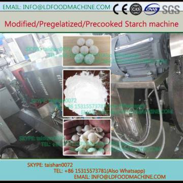 Automatic medical use modified corn starch processing plant