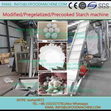 Twin screw extruder modified corn potato cassava pregelatinized tapioca starch production line make machinery equipment