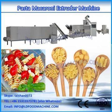Single screw Macaroni make machinery and Macaroni long pasta machinery