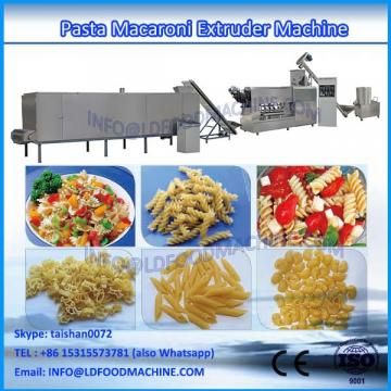 single extruder fried pasta macaroni food make machinery