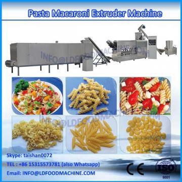 single screw macaroni pasta food extruder