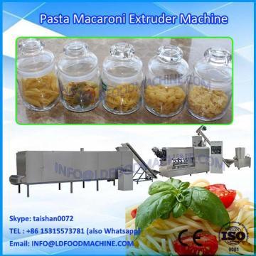 single extruder fried pasta macaroni make machinery