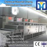 chemical Microwave dryer sterilizer/powder material sterilizing machine