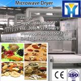 Tunnel Microwave continuous green tea dryer with conveyor belt transit in the tunnel type heating box