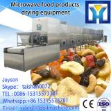 High quality tunnel conveyor belt type microwave pulse dryer sterilizer