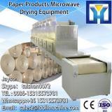 pencil/cardboard Microwave continuous tunnel microwave sterilizing&drying machine for paper products