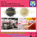 Manufacturer for cold press flax seed oil processing machinery