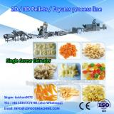 250kg/h industrial fried pellet processing machinery