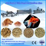 Double screw extruded fish feed pellet machinery