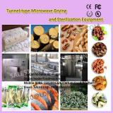 Tunnel-type Chicken feet Microwave Drying and Sterilization Equipment