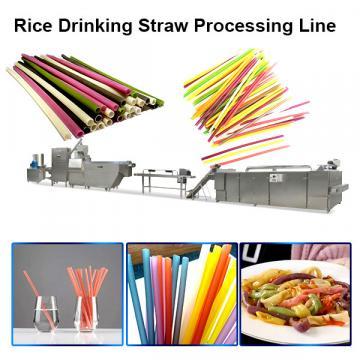 2020 popular automatic industrial long cut pasta rice macaroni rice drinking straw making machine