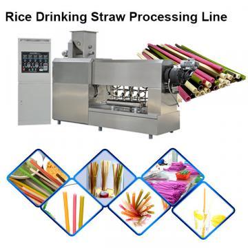 Food grade sraw pasta making machinery / pasta straw drink tube processing line