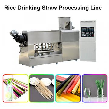 Food grade sraw pasta making machinery / pasta straw drink tube processing line